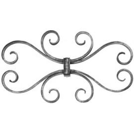 Ozdobný element 12 x 5 mm zasúvací