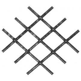 Ozdobný stredový element 16 x 4 mm