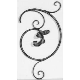 Barokový element ľavý