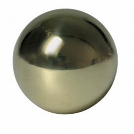 Mosadzná guľa plná 20 mm
