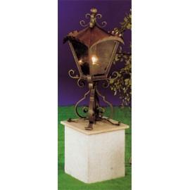 Lampa s podperou 94 x 45 cm