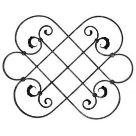 Ozdobný stredový element 16 x 8 mm