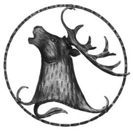 Ozdobný jeleň - ľavý