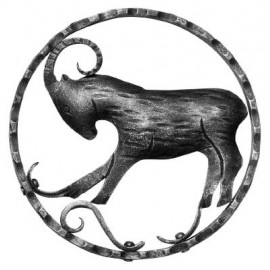 Znamenie - kozorožec - ozdobný element