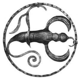 Znamenie - škorpión - ozdobný element