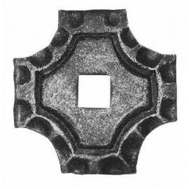 Podlahová platnička štvorcová