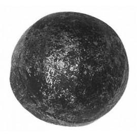 Ozdobná guľa 25 mm kovaná