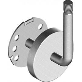 Nerezový držiak madla navarovací 12 mm M12