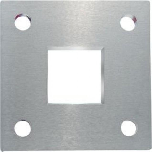 Kotviaca platnička z nereze 68 x 68 x 6 mm