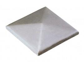 Nerezové krytky stĺpikov pyramídové