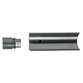 Nerezový držiak rúry 26.9 mm