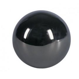Ozdobná guľa dutá poniklovaná 65 mm