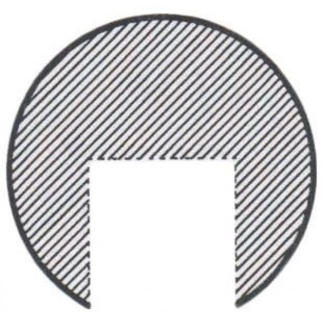 Guľa plná nerezová 20 mm so slepým otvorom 10.2 mm