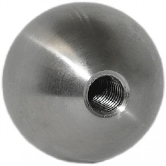 Guľa plná nerezová 15 mm so závitom M5
