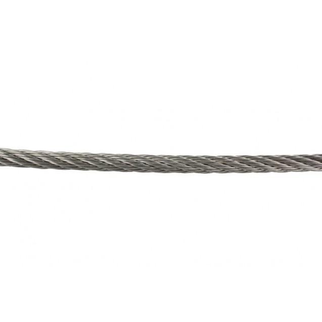 Flexibilné nerezové lano 7 x 7 Ø 5 mm