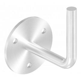 Nerezový držiak madla navarovací 12 mm