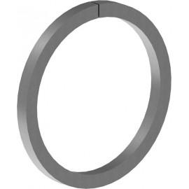 Oceľový krúžok 12 x 6 mm, Ø 100 mm