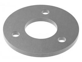 Oceľové kotviace platničky okrúhle 4-dierové