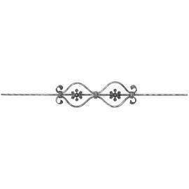 Ozdobná výplňová tyčka 16 x 8 x 900 mm