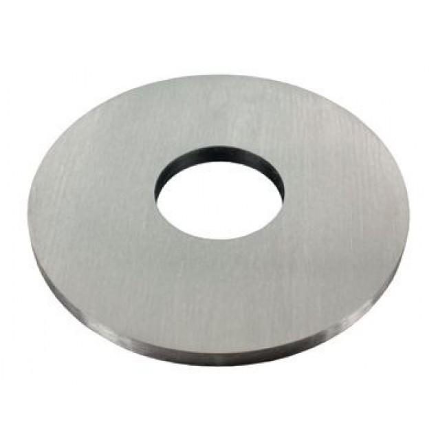 Nerezová platnička 80 x 6 mm, pozdĺžne brúsená