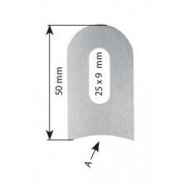 Naváracia spona nerezová 50 x 30 x 4 mm