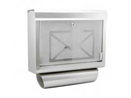 Klasické poštové schránky nerezové
