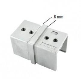 Nerezová spojka - konektor 40 x 40 mm