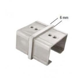 Nerezová spojka - konektor 60 x 40 mm
