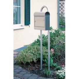 Stojan na poštovú schránku nerezový 1800mm