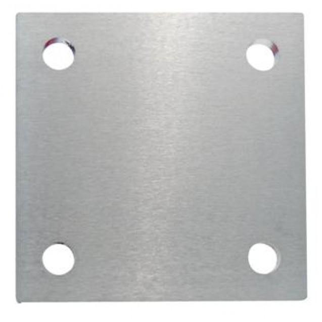 Kotviaca platnička z nereze 100 x 100 x 6 mm