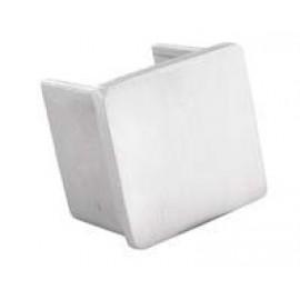 Nerezová koncovka štvorcového U-Profilu 40 x 40 x 1.5 mm