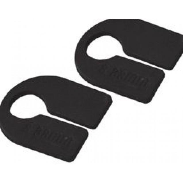 Gumené podložky pre úchyty 40 x 28 x 17.4 mm