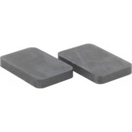 Gumené podložky pre držiaky skla/platničky 8 mm