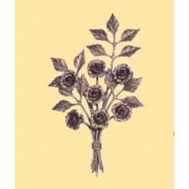 Ozdobná kytica- ruža